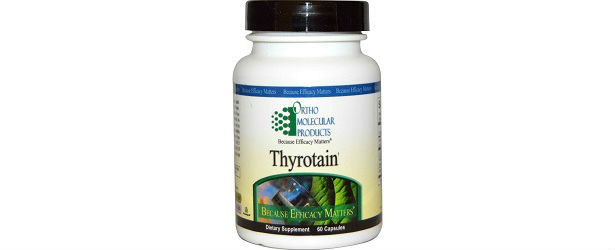 Ortho Molecular Products Thyrotain Review 615