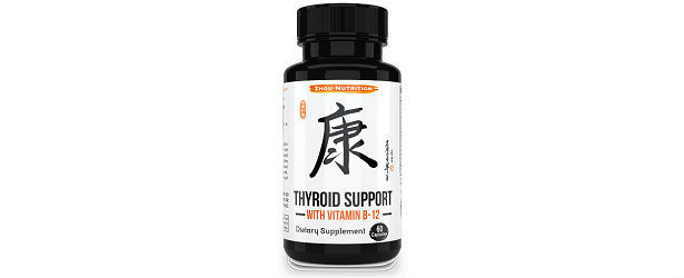 Zhou Nutrition-Thyroid Support with Vitamin B-12 Review 615