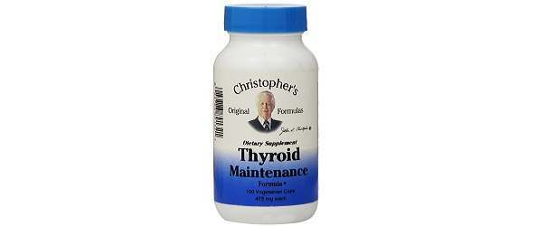 Dr. Christopher's Thyroid Maintenance Formula Review