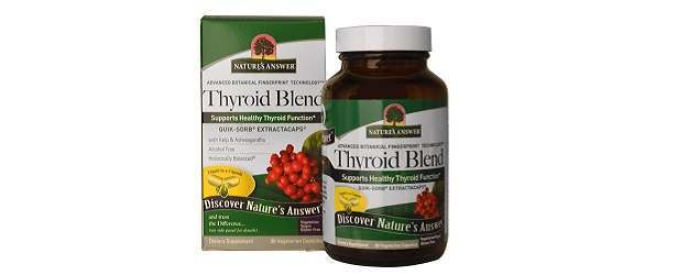 Nature's Answer Thyroid Blend Review