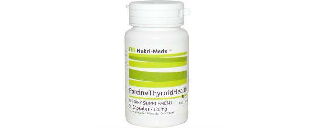 Nutri-Meds Desiccated Porcine Thyroid Health Review